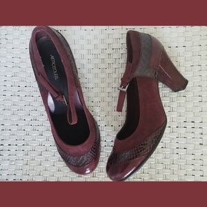 Aerosole Crescent Role Mary Jane Shoes Sz 9.5M